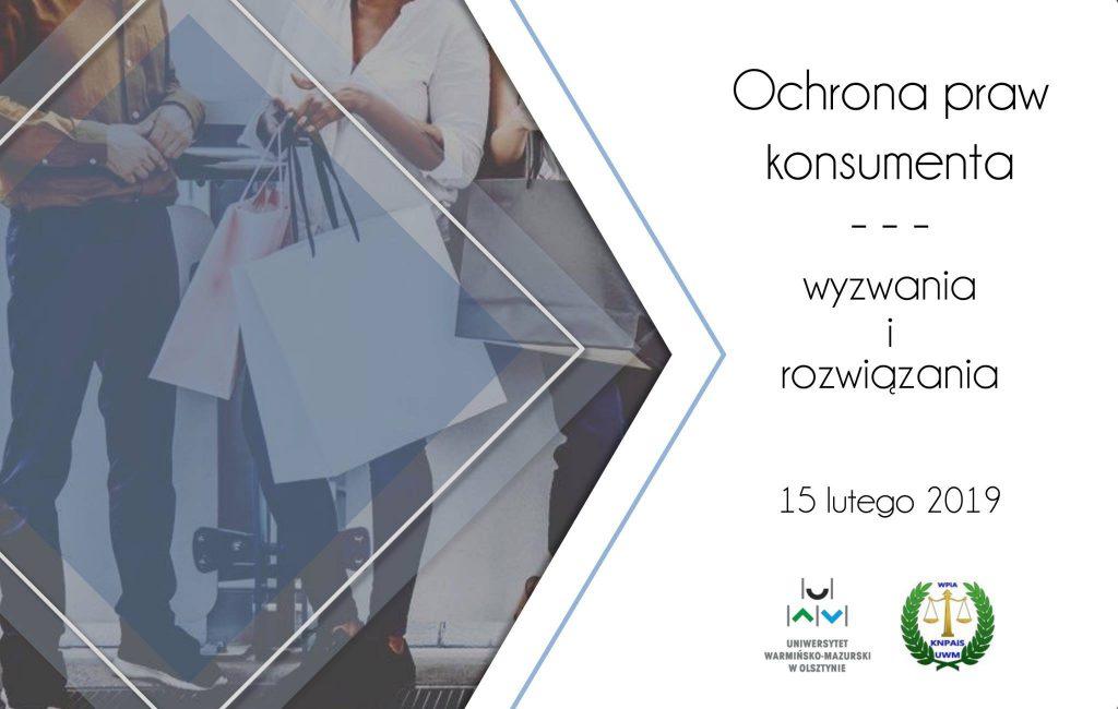 konferencja prawnicza Ochrona praw konsumenta — wyzwania i rozwiązania