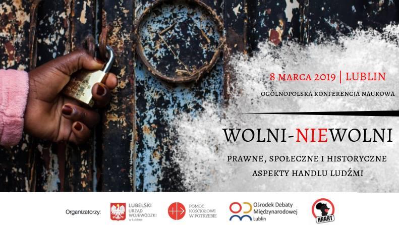 OKN: Prawne, społeczne i historyczne aspekty handlu ludźmi